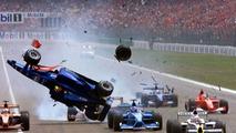 Luciano Burti, Michael Schumachers, Hockenheim 29.07.2001