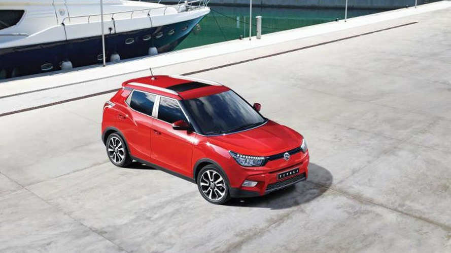 SsangYong Tivoli revealed in South Korea with new 1.6 engine