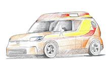 Scion xB & tC concepts teased for SEMA