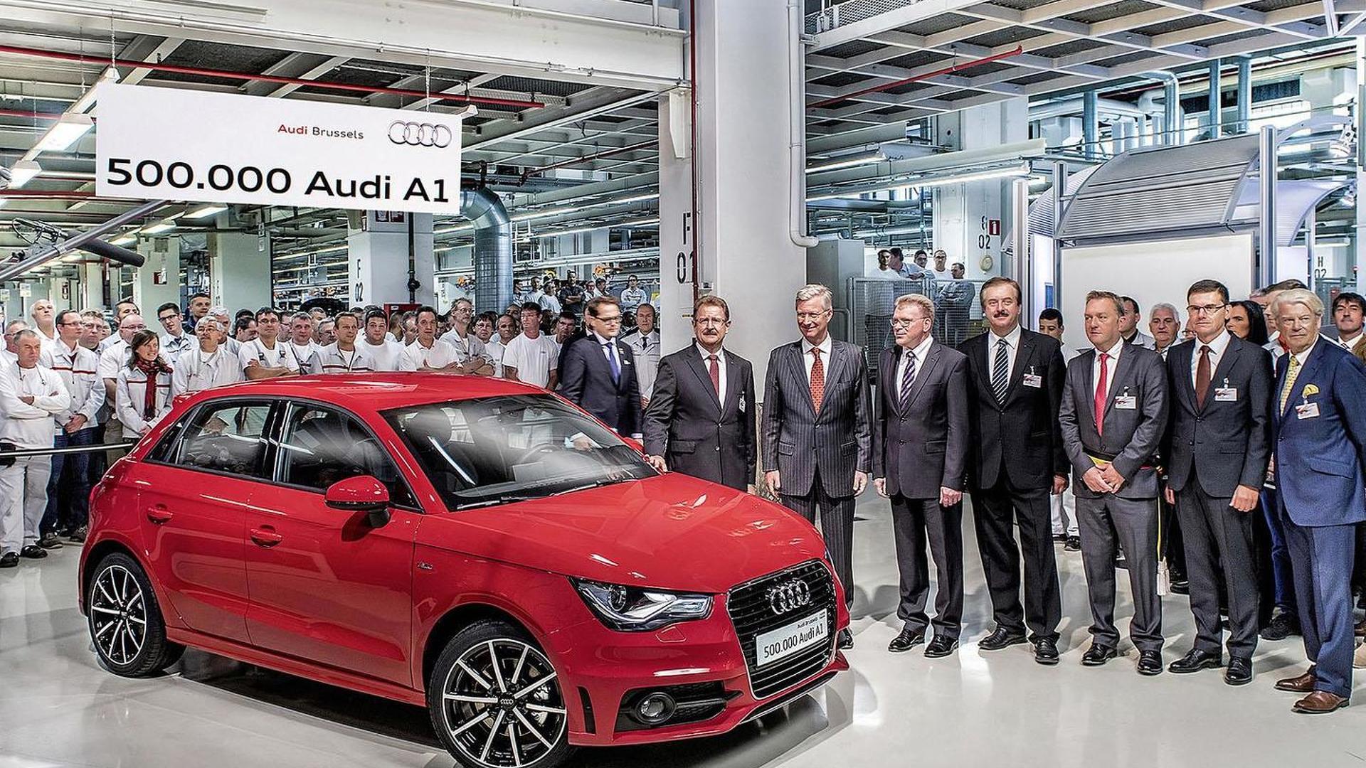 Полумиллионная Audi A1