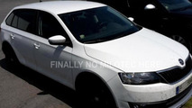 Skoda Rapid Scout spy photo / autoforum.cz