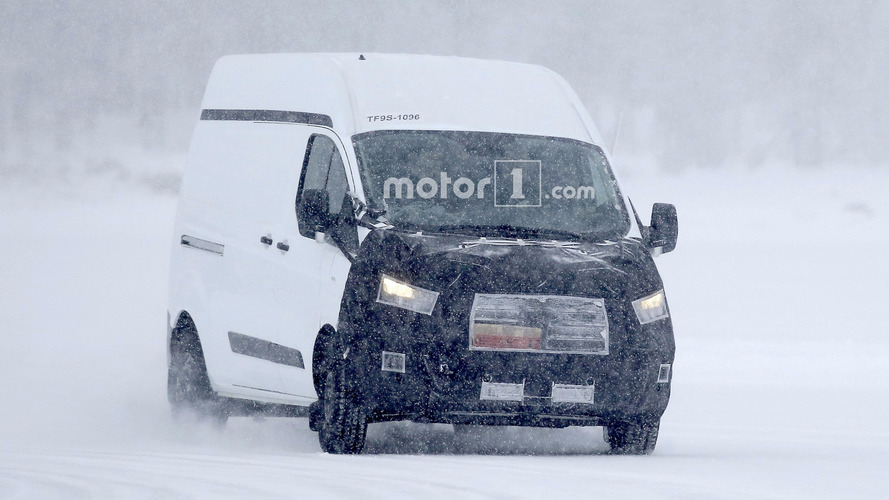 Ford Transit Custom spied getting a makeover