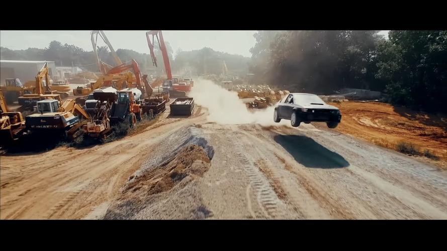 VIDEO – Un gymkhana fait maison en Subaru Impreza 2,5 RS