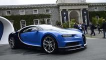 Goodwood 2017 - Bain de foule pour la Bugatti Chiron