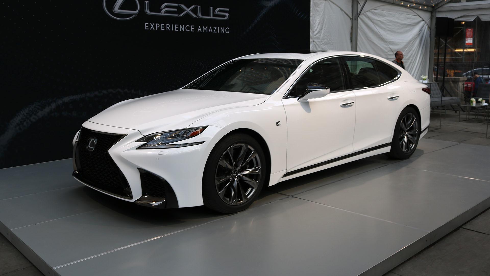 2018 lexus ls 460 f sport. perfect 460 in 2018 lexus ls 460 f sport u