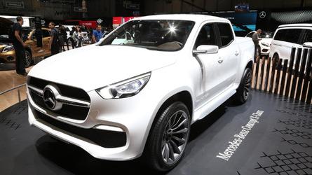 Picape Mercedes Classe X aparece publicamente pela 1ª vez em Genebra