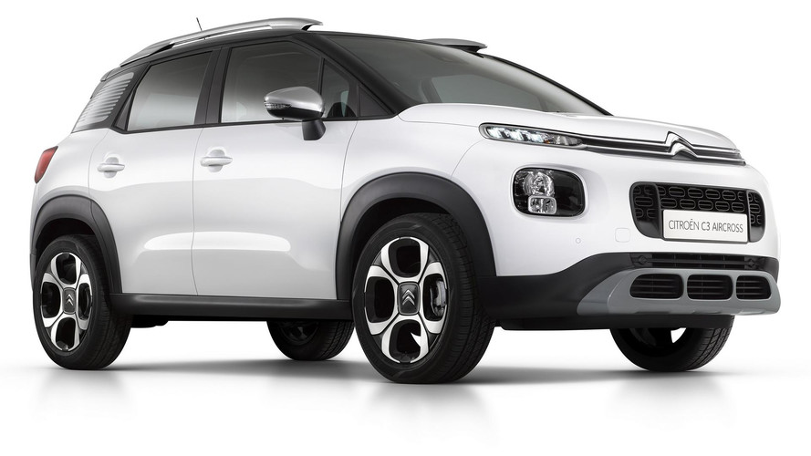 2017 Citroen C3 Aircross official gallery