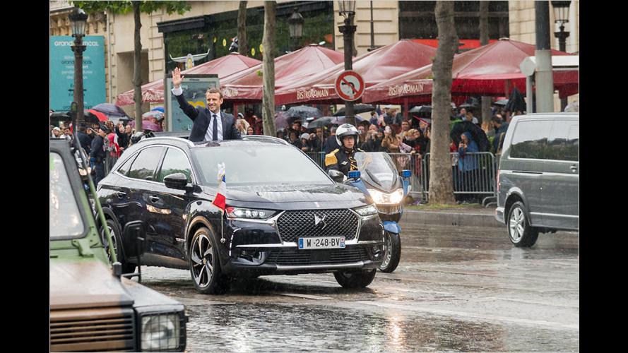 DS 7 Crossback: Das Macron-Mobil