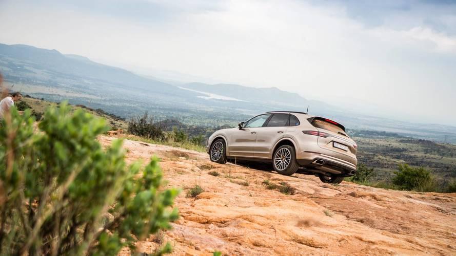 Le Porsche Cayenne E-Hybrid finalise ses tests en Afrique du Sud