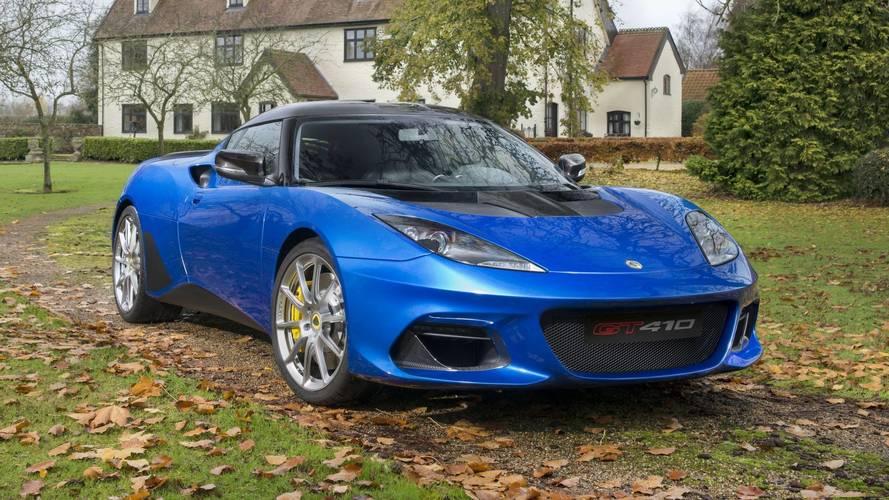 Lotus Evora GT410 Sport karbon fiberle dolu