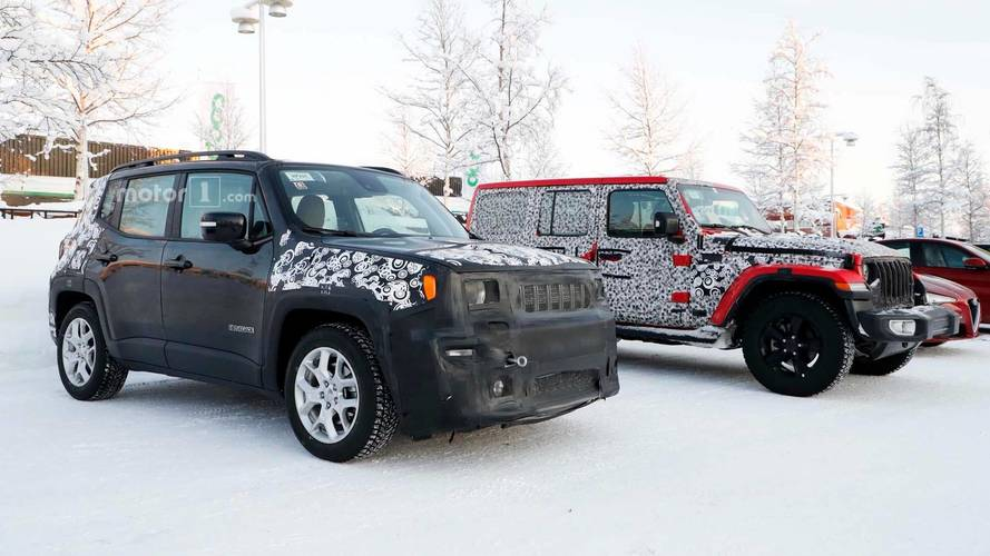 2019 Jeep Renegade Spied Again, And It Brought Friends