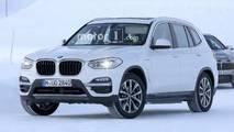 2019 BMW iX3 spy photo