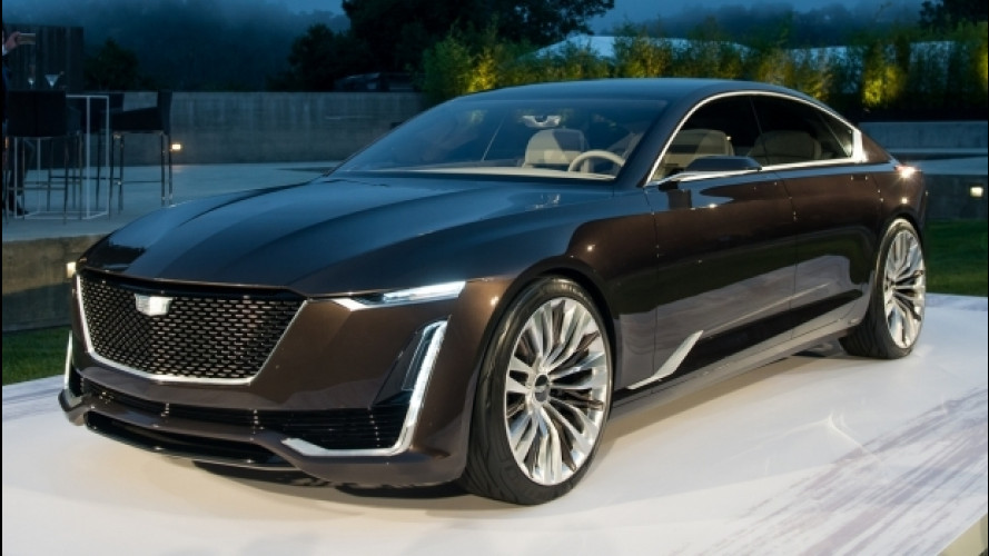 Cadillac Escala Concept, lusso all'americana