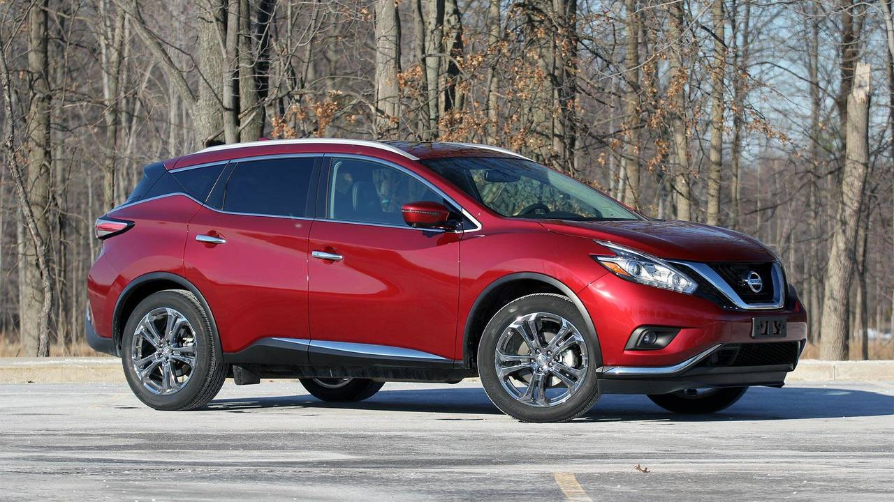 2018 nissan murano review style with substance. Black Bedroom Furniture Sets. Home Design Ideas