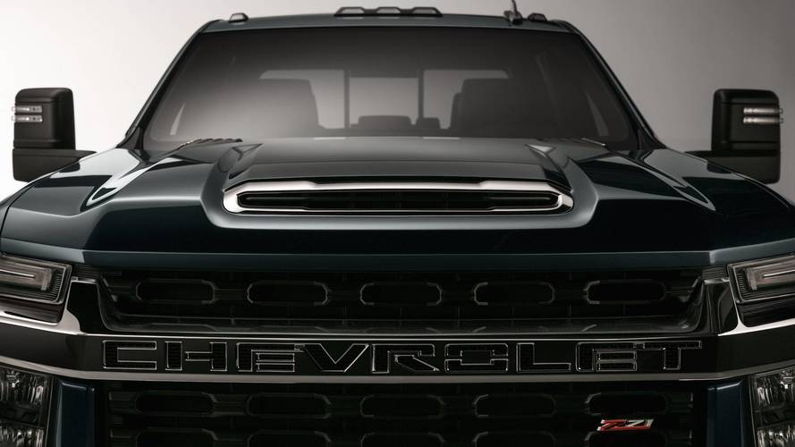 2020 Chevy Silverado HD Teases Its New Face Ahead Of 2019 ...