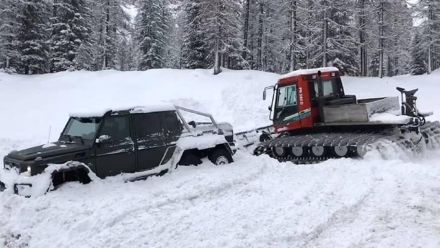 A Mercedes-AMG G63 6x6 sem megállíthatatlan
