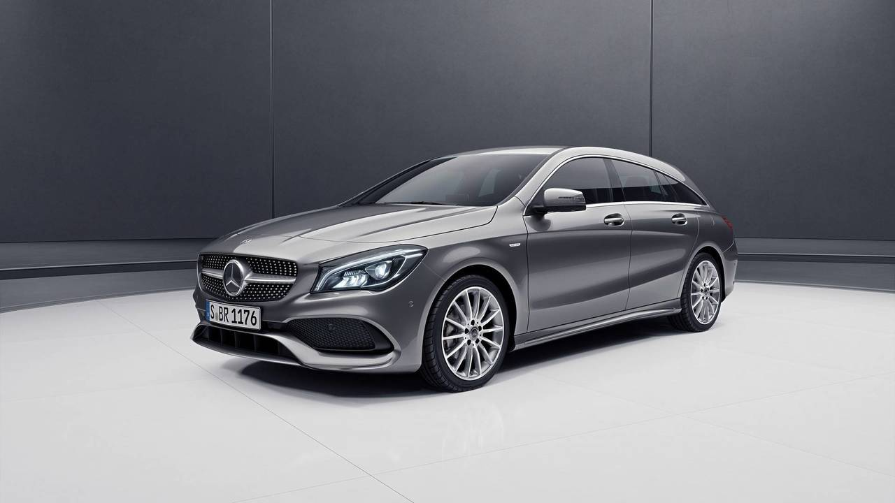 Mercedes CLA Shooting Brake Night Edition
