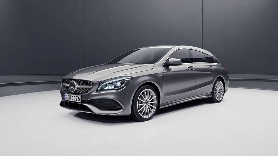 Mercedes, CLA Shooting Brake'e yeni bir stil katmaya hazırlanıyor