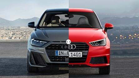 Audi A1 Sportback, vecchia e nuova a confronto