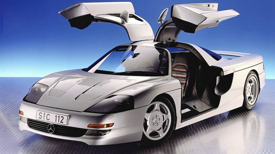 1991 Mercedes C 112: Concept We Forgot