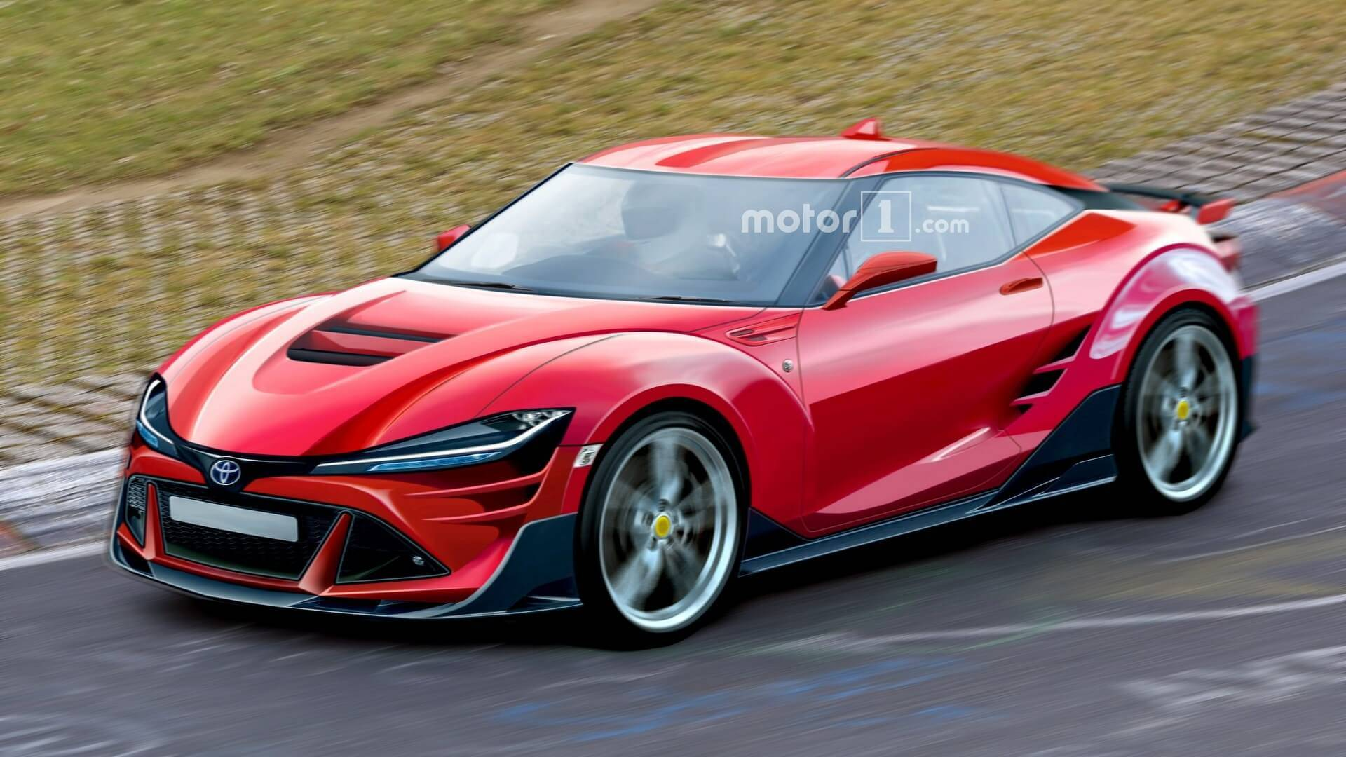 2021 Toyota 86 Rendered With Aggressive Cues