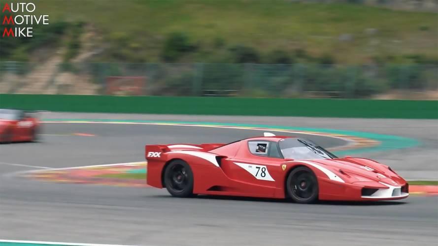 Ferrari FXX'in muhteşem sesine kulak verin