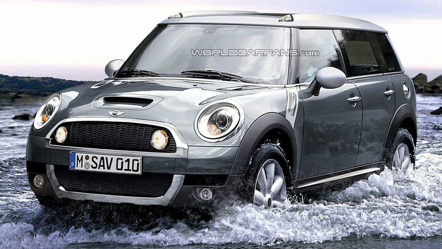 MINI Crossman SUV Spy Photos and Rendering