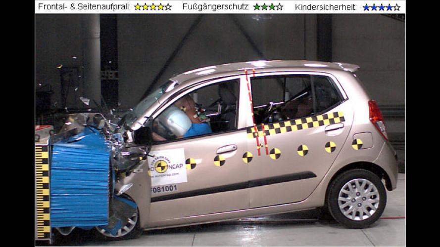 Frisch gecrasht: Euro NCAP unterzieht sieben Modelle dem Härtetest