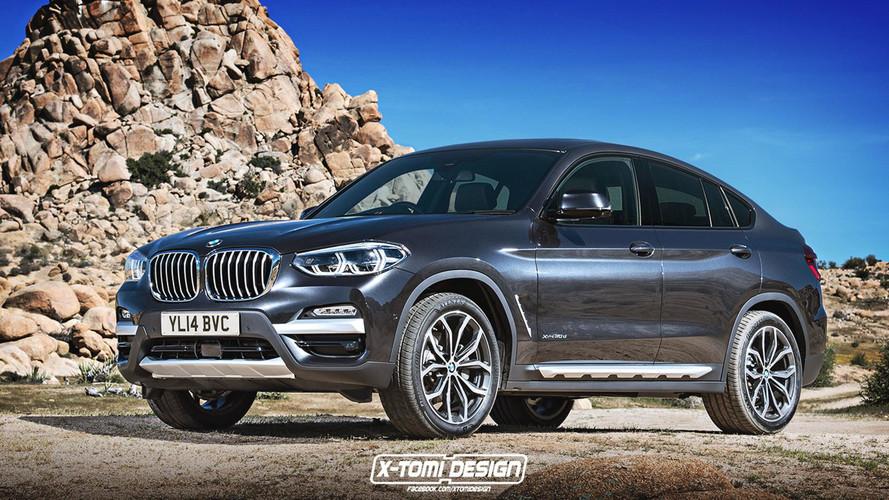 Un premier rendu pour la future BMW X4