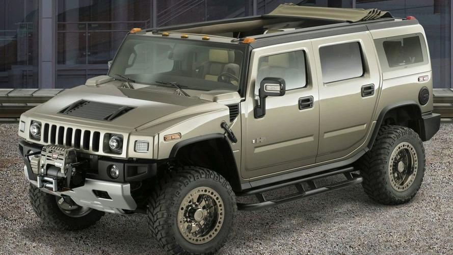 Hummer H2 Safari Concept at SEMA