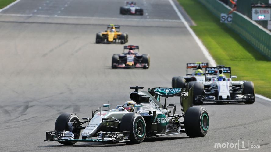 Hamilton 'cannot believe' podium finish