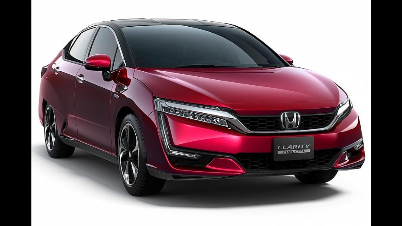 Honda, Clarity Fuel Cell'in satışına başladı