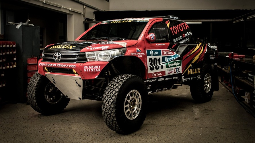Toyota Gazoo reveals radical Hilux Evo ahead of 2017 Dakar Rally