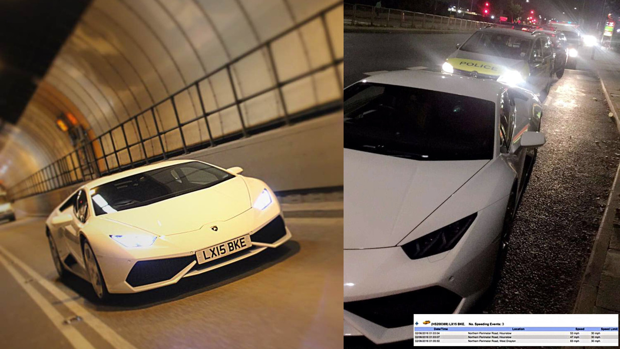 Lamborghini Huracan erroneously seized by police