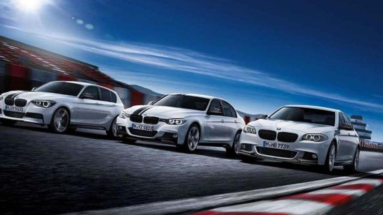 BMW 1 Series, BMW M Performance aerodynamic kit, exterior mirror caps carbon fiber, top stripes black 17.02.2012