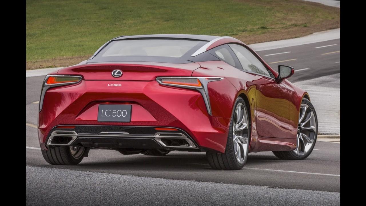 Visual nota 10! Lexus LC 500 conquista prêmio 'EyesOn Design' em Detroit