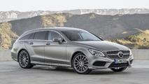Mercedes CLS Shooting Brake gris