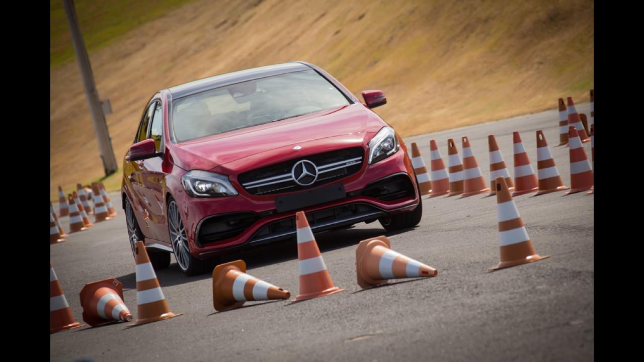 """Mercedes-AMG promove """"dia das crianças grandes"""" com novos esportivos no Velocittà"""