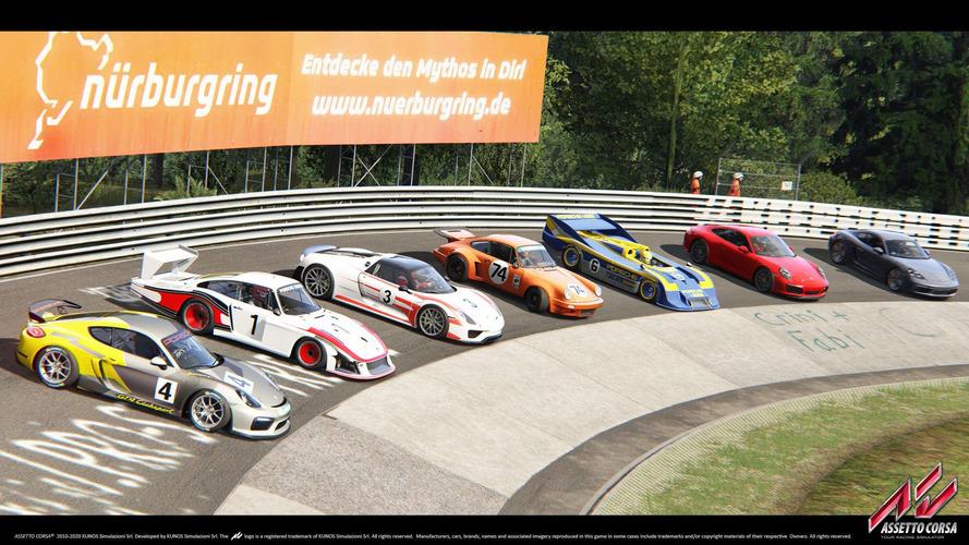 VIDÉO - Un pack Porsche pour Assetto Corsa !