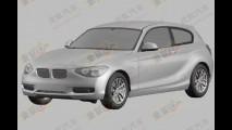 Novo BMW Série 1 de duas portas aparece em registro de patentes na China