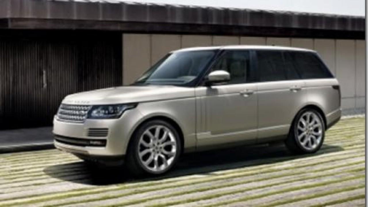 Novo Range Rover 2013 aparece novamente em imagens oficiais vazadas