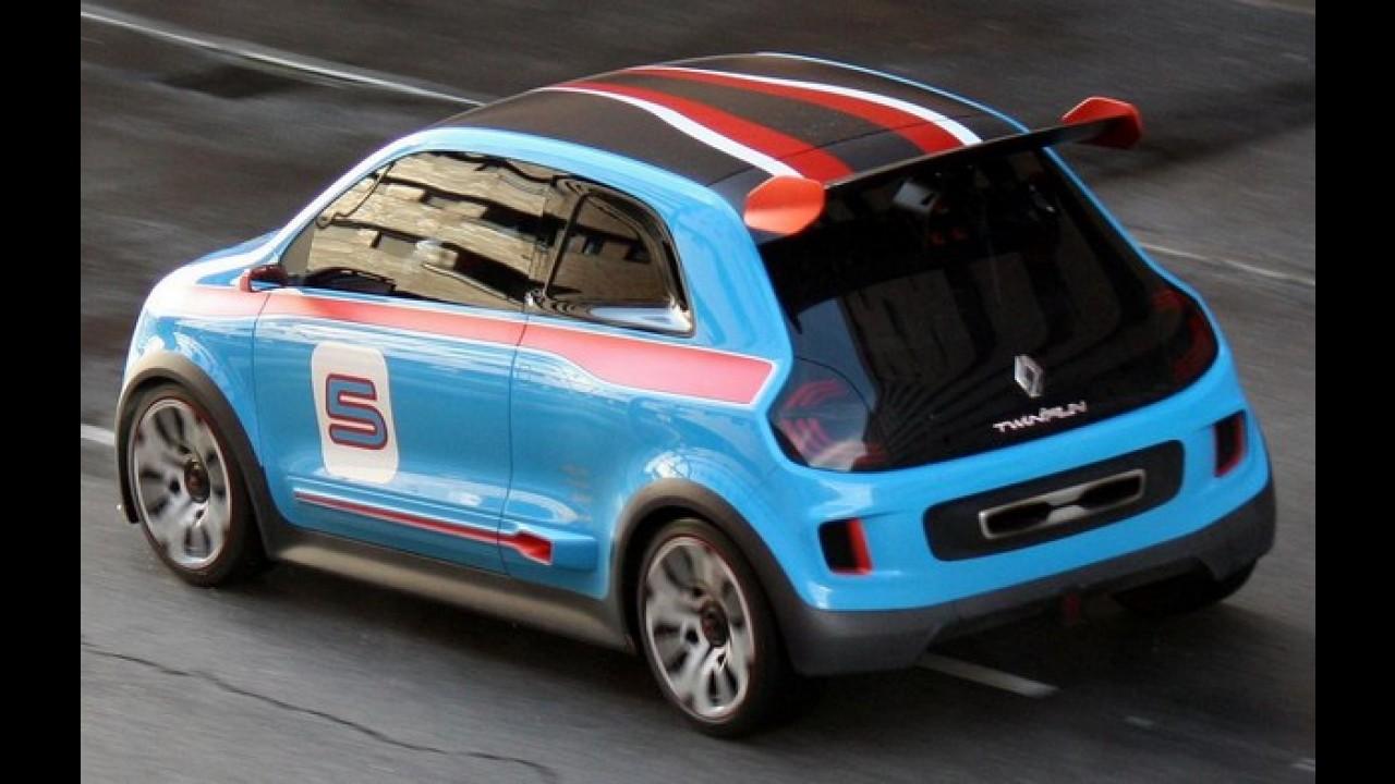 Flagrado, conceito Renault TwinRun é a cara do Fiat 500