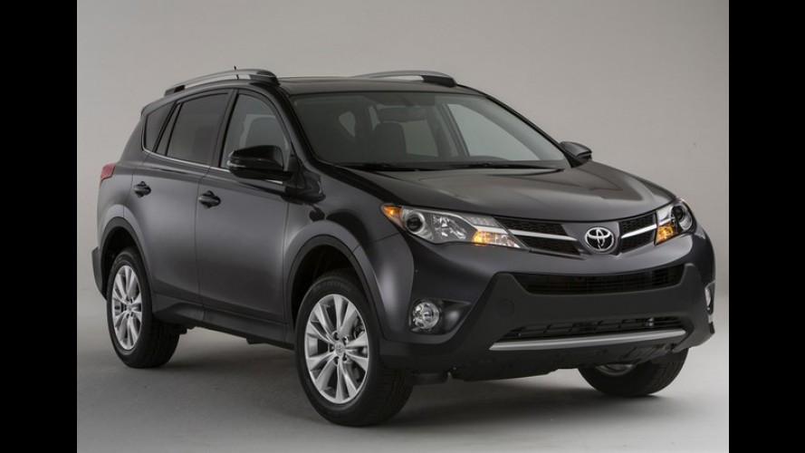 Toyota RAV4 pode ter versão híbrida no futuro