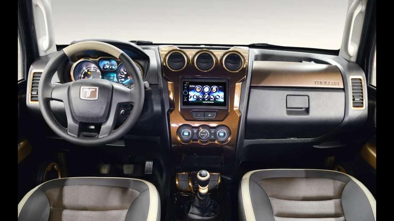 Troller mostrará versões especiais do novo T4 no Salão do Automóvel