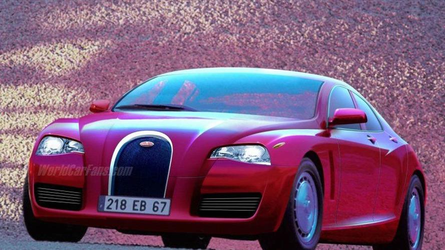 Bugatti Veyron-based Sedan?