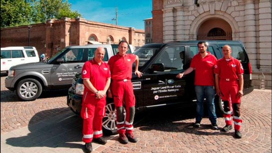 Terremoto in Emilia, Jaguar Land Rover Italia offre il suo aiuto
