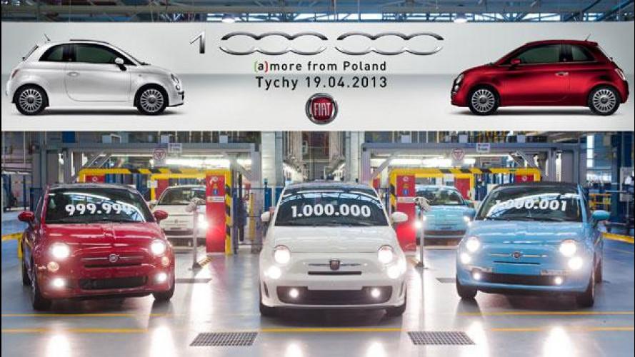 Un milione di Fiat 500 prodotte in Polonia