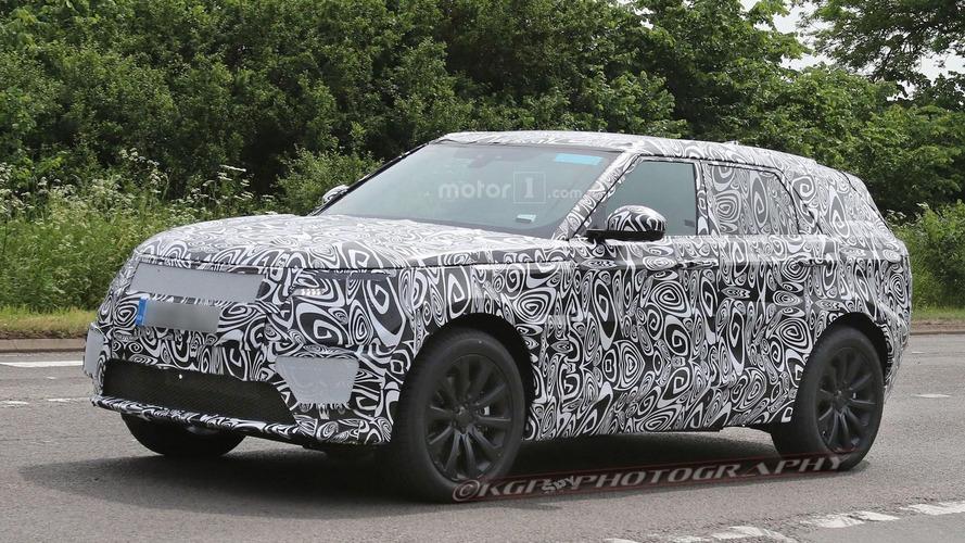 Range Rover Coupe spy photos