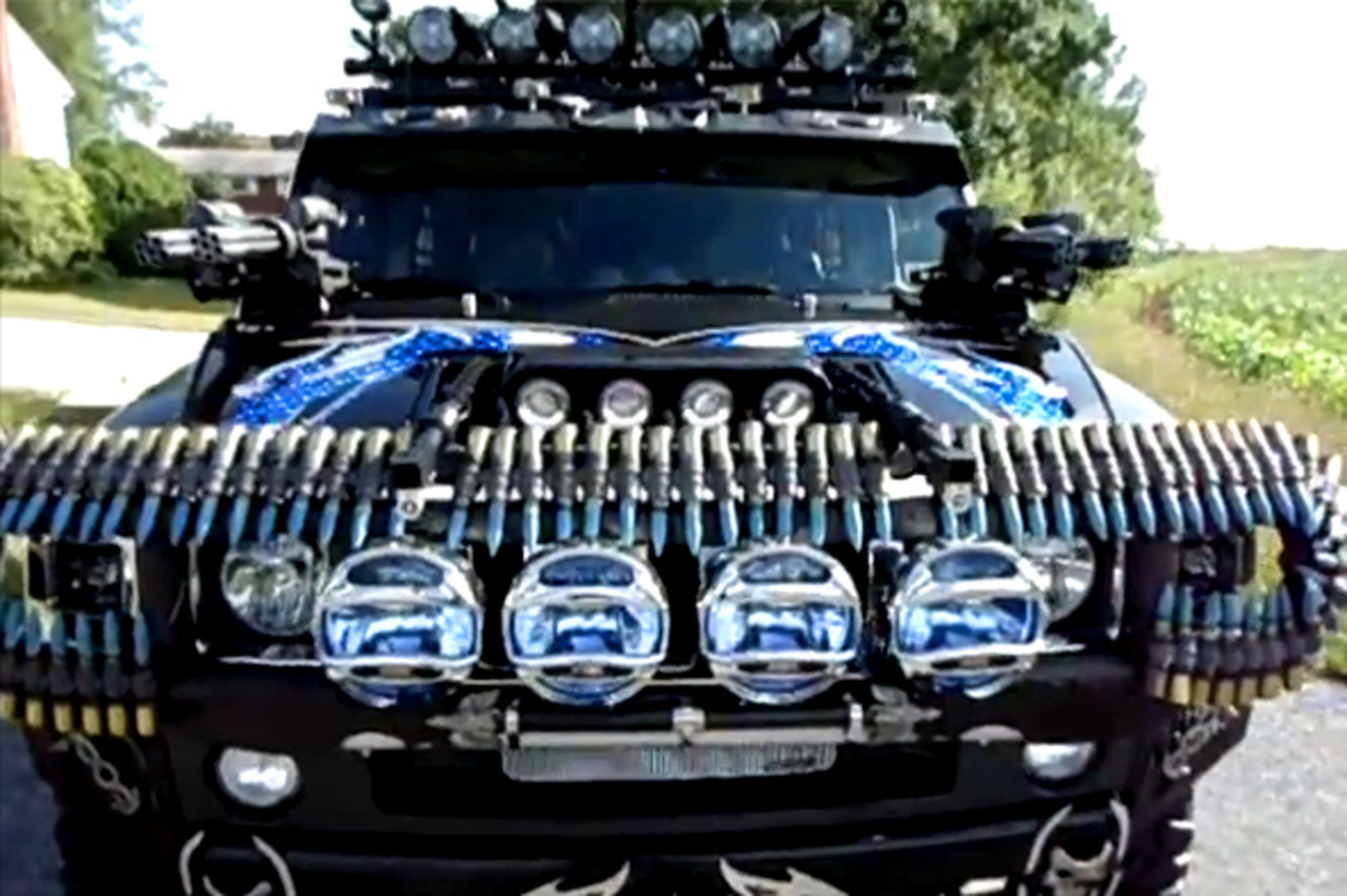 Black Knight Hummer is a Zombie Killing Party Machine | Motor1.com