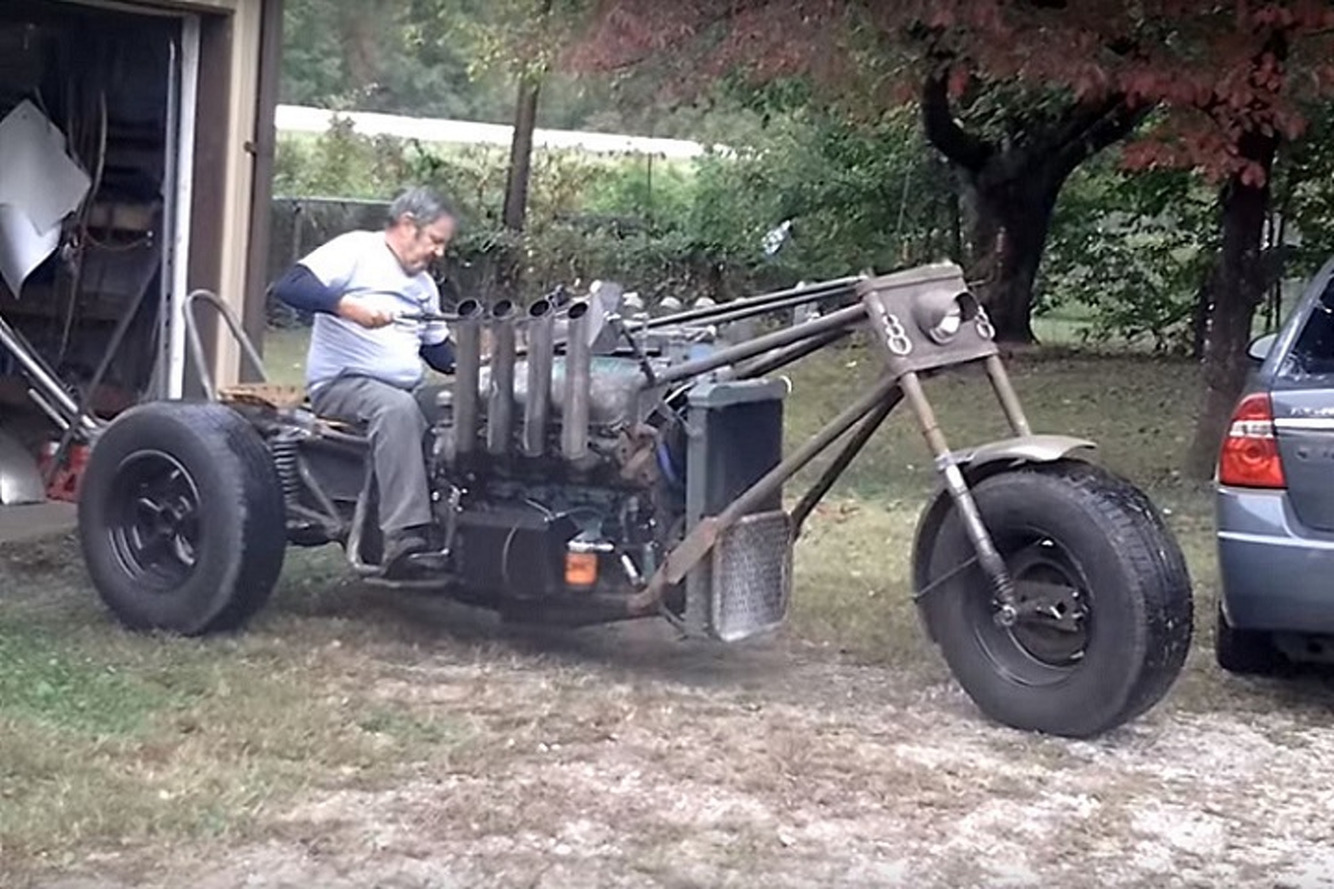 Dsytopian Custom Trike Is the Next Mad Max Machine